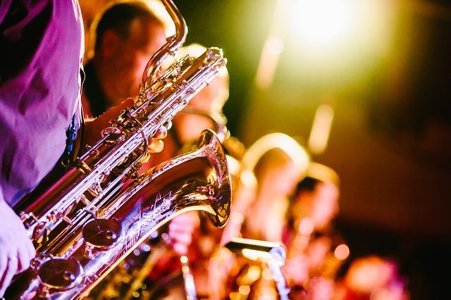 Bilde av en saksofon